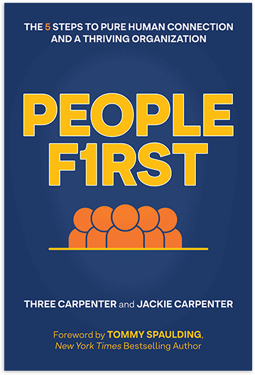People First by Three and Jackie Carpenter | Book cropped and styled for homepage