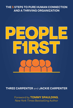 People First by Three Carpenter and Jackie Carpenter Cover Image for Press Kit
